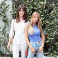 Annabelle et Stella Belmondo au village lors des internationaux de tennis de Roland Garros à Paris, le 10 juin 2018. © Moreau-Jacovides/Bestimage