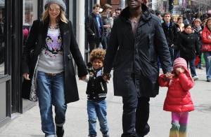Heidi Klum... trop cool à New York avec son homme et ses enfants !