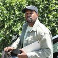 Exclusif - Kanye West arrive à un studio d'enregistrement à Los Angeles, le 12 juin 2018.