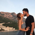 Nabilla et Thomas Vergara amoureux au Monténégro, début juin 2018.