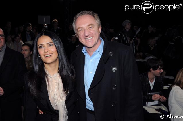 François-Henri Pinault et sa femme Salma Hayek