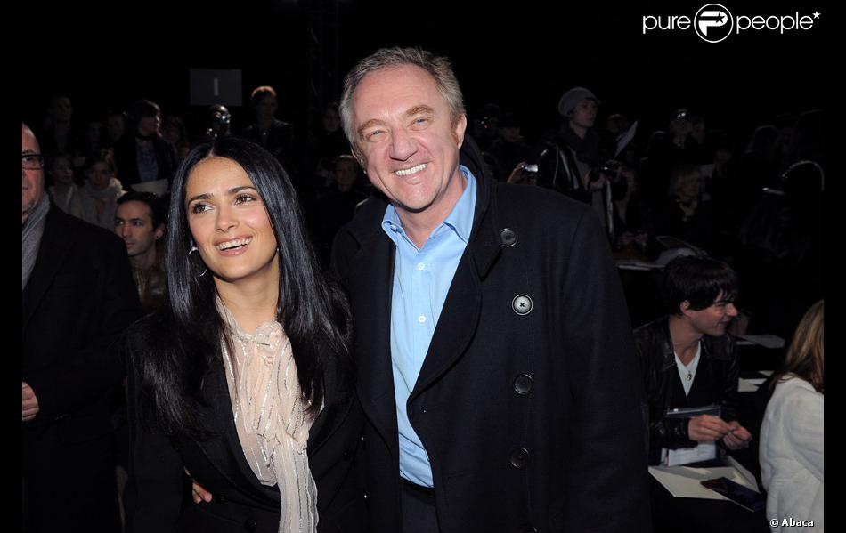 fran ois henri pinault et sa femme salma hayek. Black Bedroom Furniture Sets. Home Design Ideas
