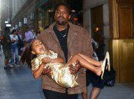 North West colérique (et les cheveux lissés), Kanye West à bout