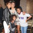 Exclusif - Mel B et ses enfants Phoenix Gulzar, Angel Brown, Madison Belafont - G. Madatyan organise une fête d'anniversaire surprise pour sa meilleure amie Mel B (Melanie Brown) à Los Angeles, le 30 mai 2018.