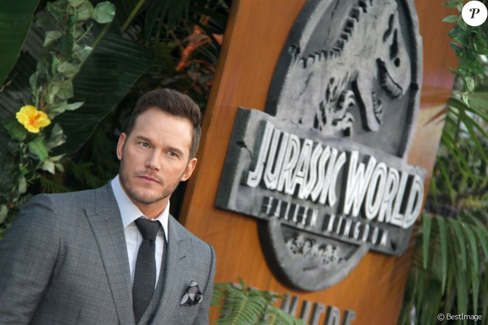 "Chris Pratt à la première de ""Jurassic Park: Fallen Kingdom"" au Walt Disney Concert Hall à Los Angeles, le 12 juin 2018.  Celebrities at the premiere of ""Jurassic Park: Fallen Kingdom"" at the Walt Disney Concert Hall in Los Angeles. June 12th, 2018.12/06/2018 - Los Angeles"