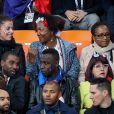 Le père Vincent et la mère Marie-Chantal de Corentin Tolisso lors du match de coupe du monde opposant la France au Pérou au stade Ekaterinburg à Yekaterinburg, Russie, le 21 juin 2018. La France a gagné 1-0. © Cyril Moreau/Bestimage