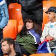 Maud Griezmann, Isabelle Griezmann lors du match de coupe du monde opposant la France au Pérou au stade Ekaterinburg à Yekaterinburg, Russie, le 21 juin 2018. La France a gagné 1-0. © Cyril Moreau/Bestimage