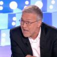 """Laurent Ruquier très énervé contre Nicolas Dupont-Aignan dans """"On n'est pas couché"""" (France 2) samedi 23 juin 2018."""