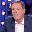 """Laurent Ruquier s'agace contre Nicolas Dupont-Aignan dans """"On n'est pas couché"""" (France 2) samedi 23 juin 2018."""