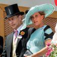 Le prince Edward, comte de Wessex et la comtesse Sophie de Wessex lors du Royal Ascot 2018 à l'hippodrome d'Ascot dans le Berkshire le 20 juin 2018