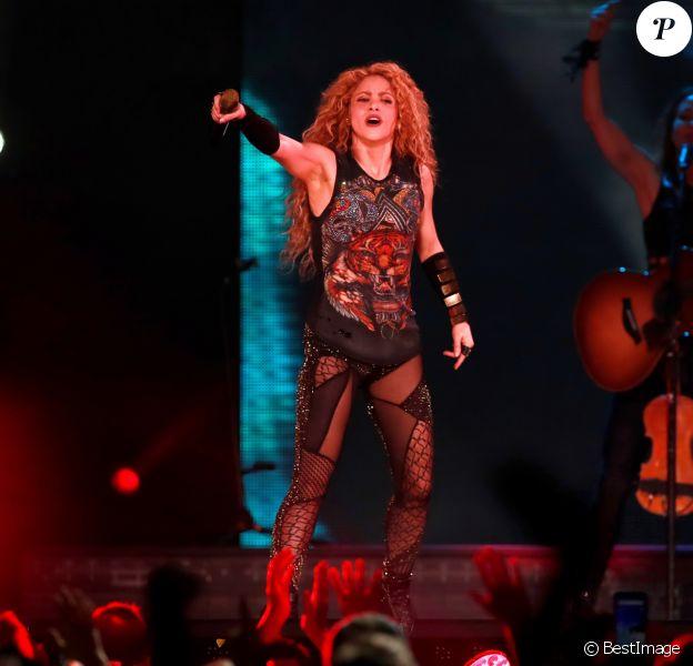 Concert de Shakira à la salle de l'Arena à Bordeaux le 25 juin 2018. © Patrick Bernard - Thierry David / Bestimage