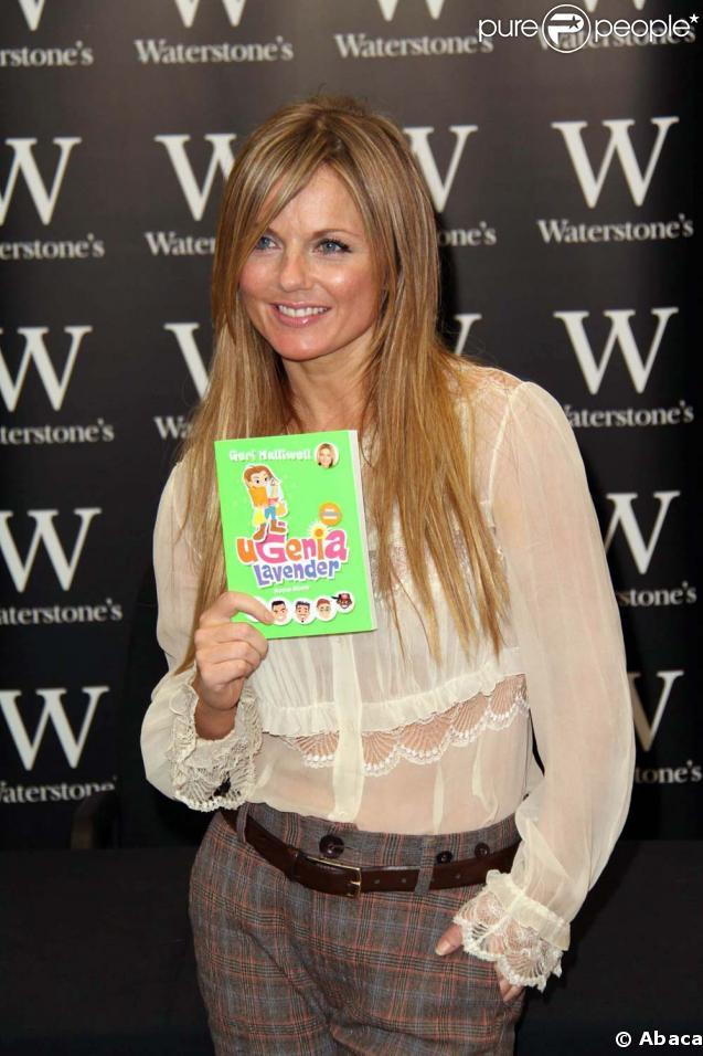 Geri Halliwell signe son nouveau livre pour enfants