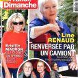 France Dimanche, juillet 2018.