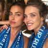 Mondial 2018 : Irina Shayk, supportrice sexy et topless avec Natalia Vodianova