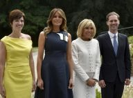 Brigitte Macron ressort la jupe courte pour ses retrouvailles avec Melania Trump