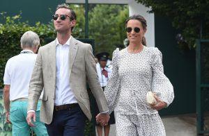 Pippa Middleton, enceinte : Sortie stylée avec son mari James à Wimbledon