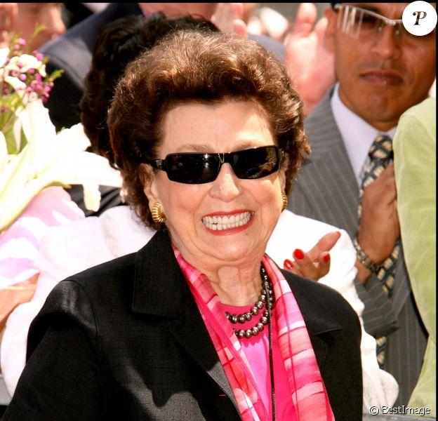 Nancy Barbato (mère de Nancy Sinatra) à Hollywood en mai 2006.