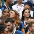 Rachel Legrain-Trapani (Miss France 2007 et compagne de B.Pavard) - People au stade Loujniki lors de la finale de la Coupe du Monde de Football 2018 à Moscou, opposant la France à la Croatie à Moscou le 15 juillet 2018 © Cyril Moreau/Bestimage