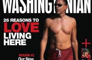 Barack Obama  s'affiche torse nu en couverture d'un magazine... Vous avez dit hot ? !
