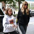 Heidi Klum et sa fille Leni à New York, le 23 juin 2018.