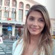 Camille cerf à Vilnius en Lituanie, le 7 juillet 2018.