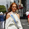 Miss France 2018, Maëva Coucke durant le Grand Prix de France au Castellet le 24 juin 2018. © Bruno Bebert / Bestimage