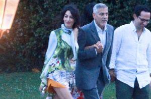George Clooney : Première sortie chic avec Amal depuis son accident
