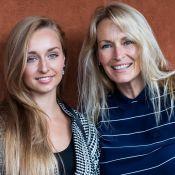 """Estelle Lefébure : Sa """"parfaite journée"""" avec sa fille Emma et son fils Giuliano"""