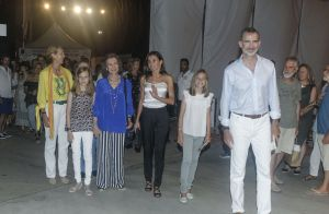 Famille royale d'Espagne : Soirée à sept en festival à Majorque !