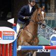 L'infante Elena d'Espagne a disputé le jumping CSI Casas Novas Horse à La Corogne en Espagne du 20 au 22 juillet 2018