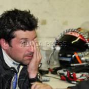 Patrick Dempsey : le séduisant docteur Mamour... très décoiffé sur le circuit des 24 heures du Mans !