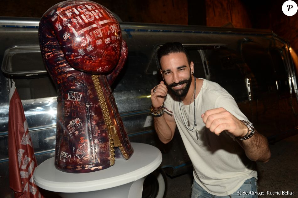 Adil Rami - Fight Night 2018 à Saint-Tropez le 4 Août 2018 © Rachid Bellak / Bestimage
