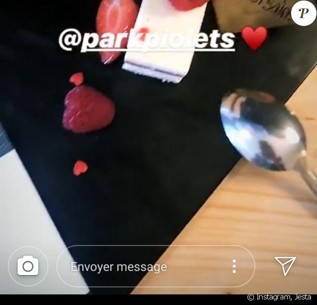 """Jesta et Benoît de """"Koh-Lanta"""" et """"La Villa"""" fêtent leurs deux ans d'amour à Andore - Instagram, 4 août 2018"""
