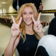 Céline Dion en tournée mondiale. Juillet 2018.