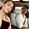 Cristiano Ronaldo et Georgina Rodriguez, image de la story Instagram de Georgina le 5 août 2018 lors d'une soirée en amoureux en Italie.