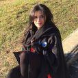 """Sabrina des """"Princes de l'amour 4"""" pose - Instagram, janvier 2017"""