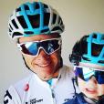 Christopher Froome (avec son fils Kellan en décembre 2017 à Steyn City, photo Instagram) et sa femme Michelle ont accueilli le 1er août 2018 leur second enfant, une petite fille prénommée Katie.