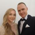 Christopher Froome et sa femme Michelle (selfie lors du gala de la Croix-Rouge monégasque, juillet 2017) ont accueilli le 1er août 2018 leur second enfant, une petite fille prénommée Katie.