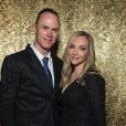 Christopher Froome et sa femme Michelle (au gala Best Buddies à Miami en novembre 2017, photo Instagram) ont accueilli le 1er août 2018 leur second enfant, une petite fille prénommée Katie.