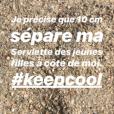 Alizée, son gros coup de gueule depuis une plage corse le 13 août 2018.