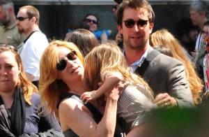 Noah Wyle, d'Urgences, avec femme et enfants en Italie... c'est que du bonheur !