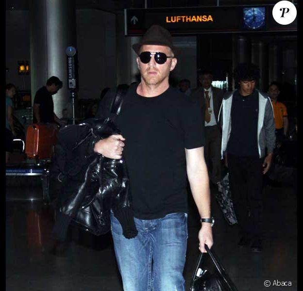 Boris Becker à l'aéroport de Miami
