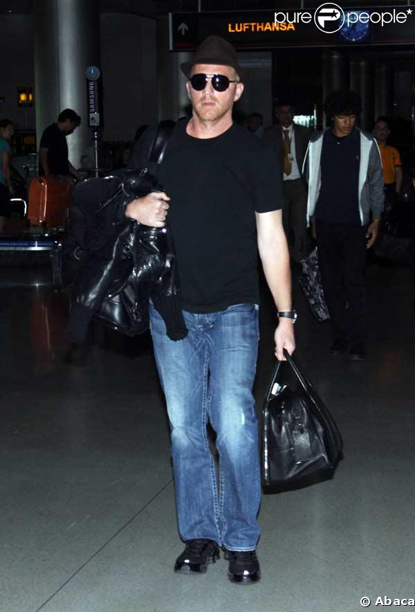 Boris Becker à l'aéroport de Miami