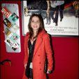 Victoria Abril - Le dîner chez Castel qui a suivi la projection en avant-première de la 2e saison de Myster Mocky présente, le 27 avril 2009