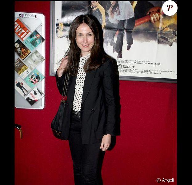Elsa Zylberstein - Le dîner chez Castel qui a suivi la projection en avant-première de la 2e saison de Myster Mocky présente, le 27 avril 2009