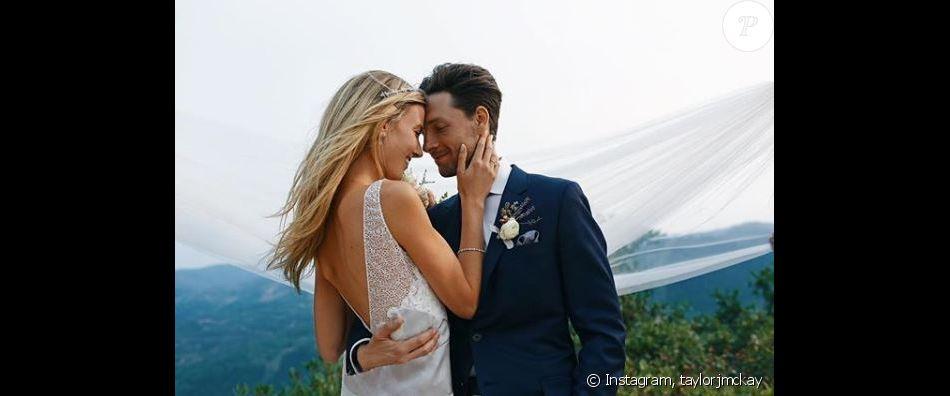 Taylor McKay et Gregory Smith se sont mariés le 18 août 2018 dans l'Utah