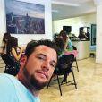 Norbert Tarayre s'est installé à Miami (Etats-Unis) avec sa petite famille.