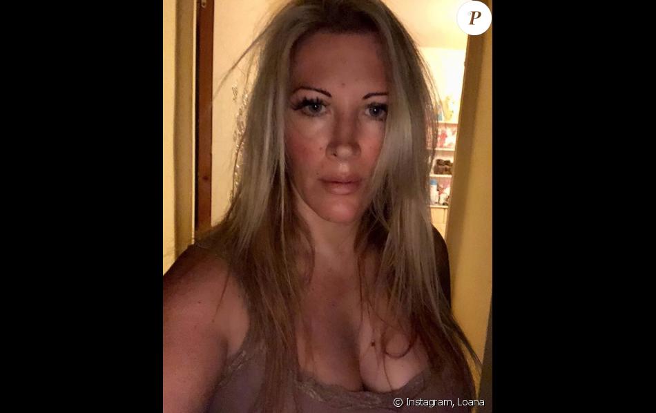 Loana amincie sur Instagram, le 23 août 2018.