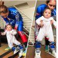 Jackie Chamoun pose avec sa fille Gaïa sur Instagram le 6 février 2018.