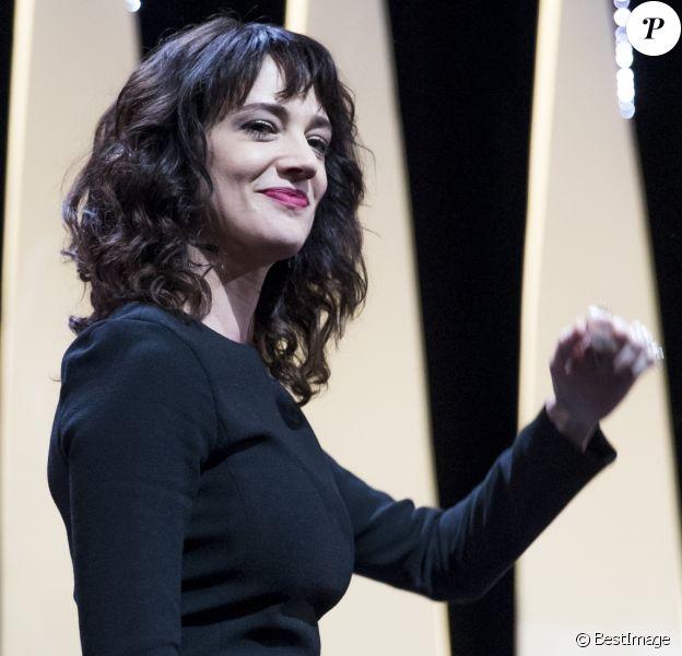 Asia Argento - Cérémonie de clôture du 71e Festival International du Film de Cannes le 19 mai 2018. © Borde / Moreau / Bestimage